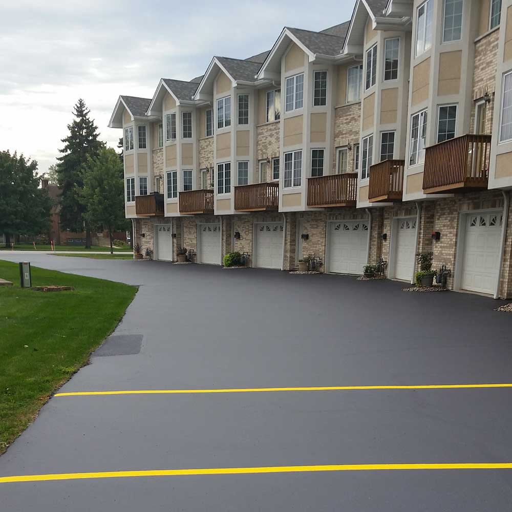 Residential Lot and Driveway Sealcoating